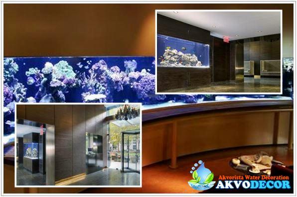 Jasa Desain dan Pembuatan Aquarium Air Laut di Sudirman Central Business District