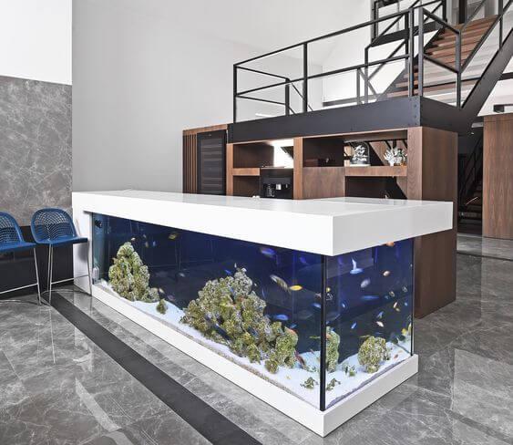 Gambar Desain Lemari Aquarium - Contoh Desain Furniture