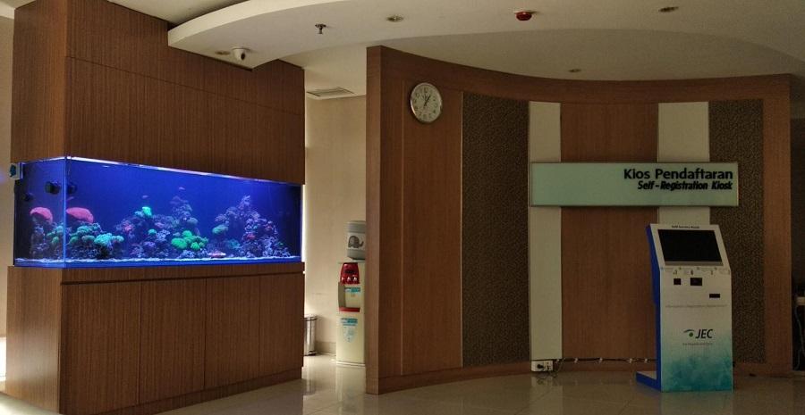 Perawatan Aquarium Laut RS JEC Kedoya